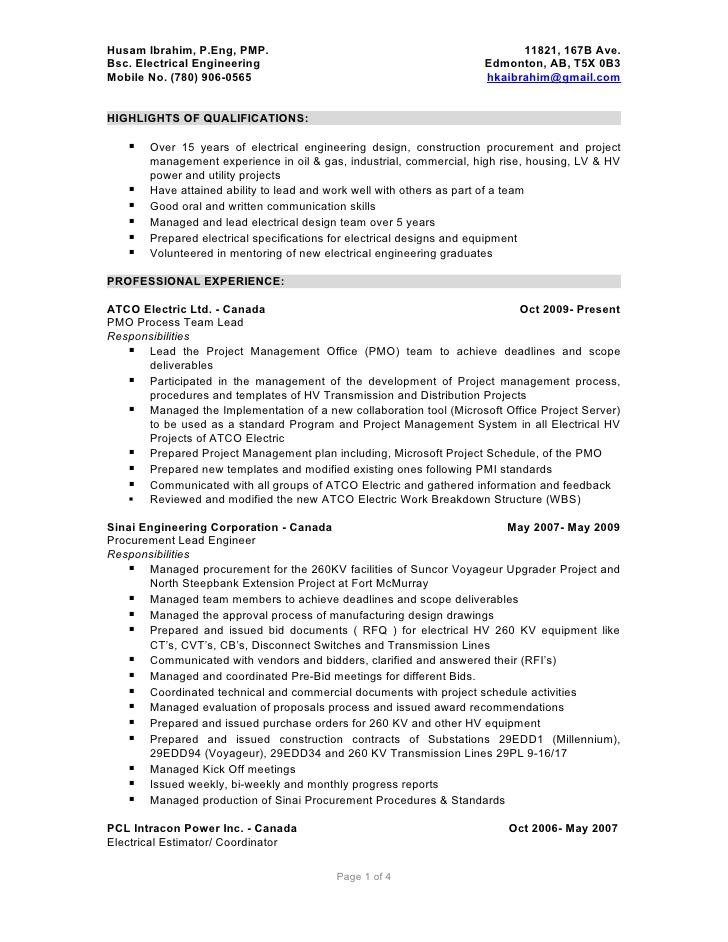 Driver Cv Example Professional Cv Writing Services Husam Ibrahim Detailed Resume 05012010