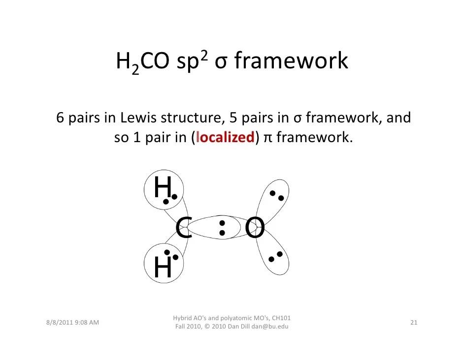 Lewis Diagram H2co - Wiring Diagram Blog