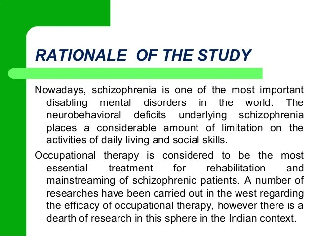 The Advantages And Limitations Of Single Case Study Analysis Efficacy Of Occupational Therapy On Neuro Behavioral