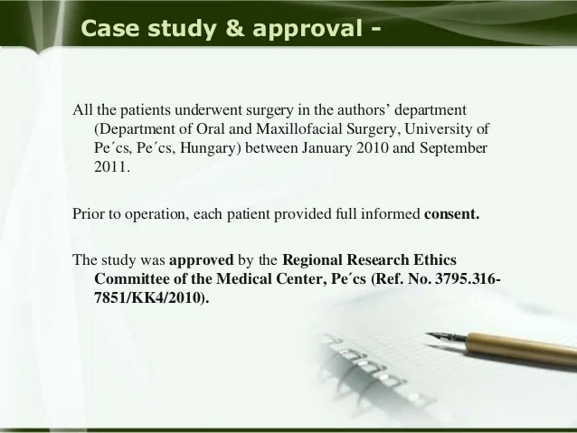 The Need For Ethics Approval A Case Study Editage Insights Inferior Alveolar Nerve In Opg