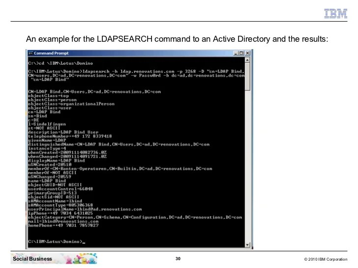 Tivoli Directory Server Ldapsearch Command Ibm Sametime 8.5.2 Installation - From Zero To Hero