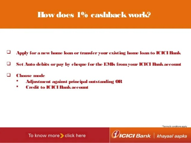 ICICI Bank launches home loan product with 'Cashback' offer