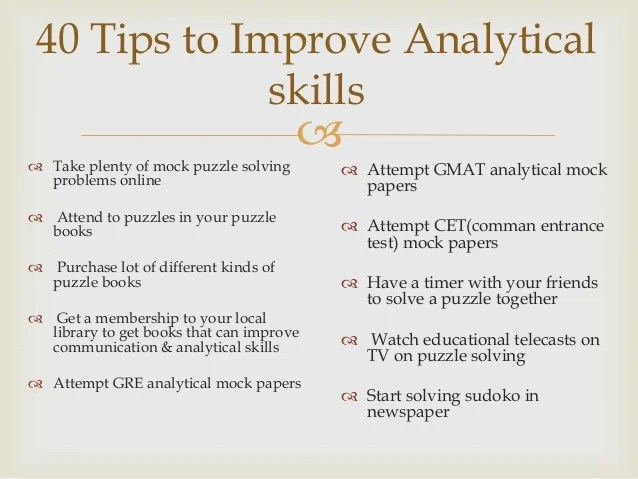top 5 benefits of analytical skills analytical skills analytical