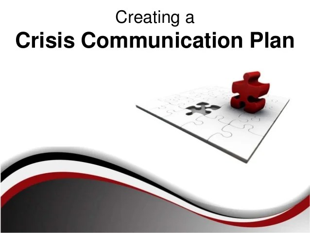 crisis communication plan examples - Canreklonec
