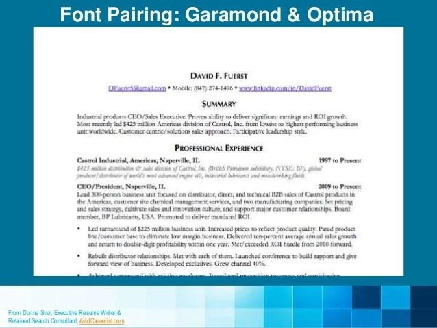 professional fonts for resume - Romeolandinez - professional resume fonts