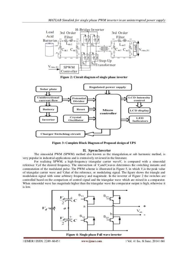 block diagram of ups