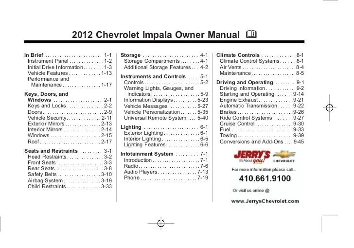 2012 impala speaker wiring diagrams