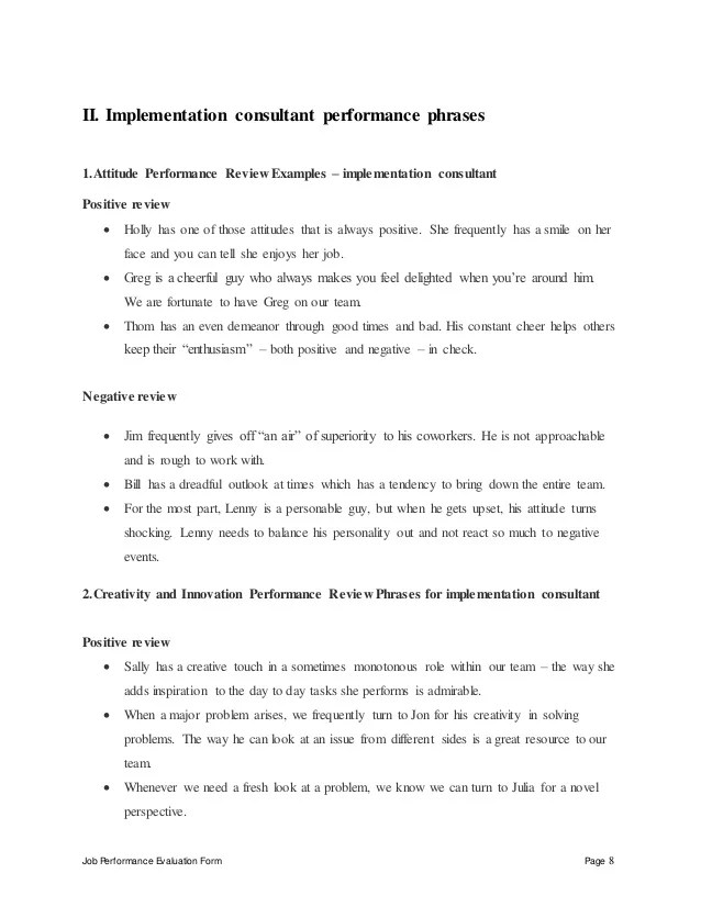 Employment Opportunities At Hydraforce Hydraulic Cartridge Implementation Consultant Perfomance Appraisal 2