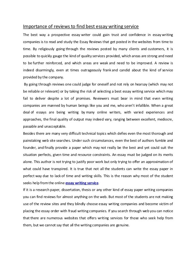 Best essay writing service uk reviews kia