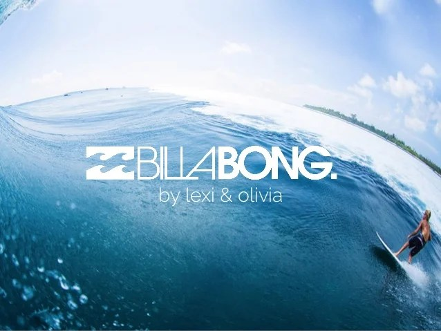 billabong marketing strategy Billabong presentation enich are billabong international ltd's marketing directorsi used to their business strategy and alsohaving.