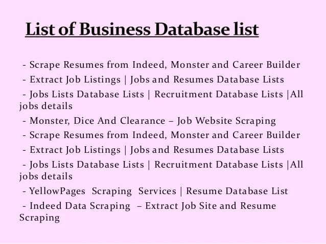 monster resume database - Minimfagency