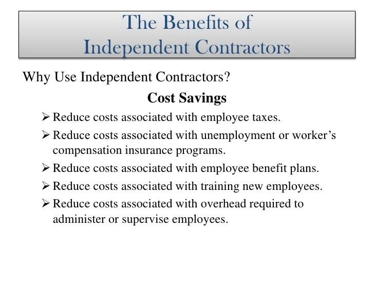 Independent Contractors In Massachusetts