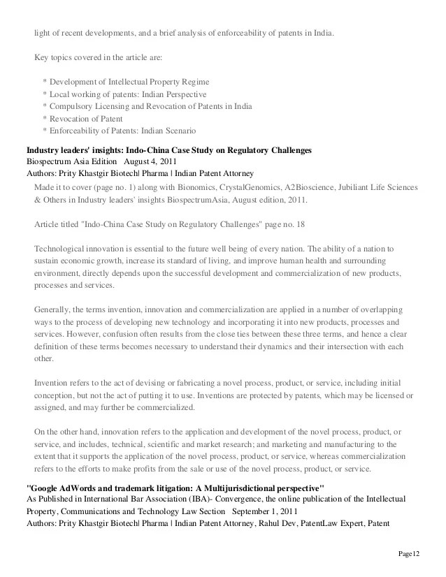 intellectual property cover letter - Josemulinohouse - patent agent sample resume