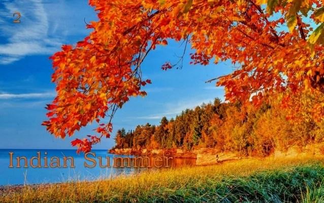 Vermont Fall Wallpaper Indian Summer 2