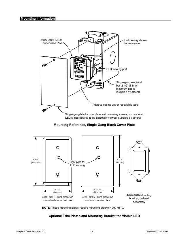 simplex wiring diagrams