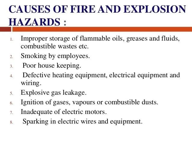 Industrial Hazards Mechanical 1