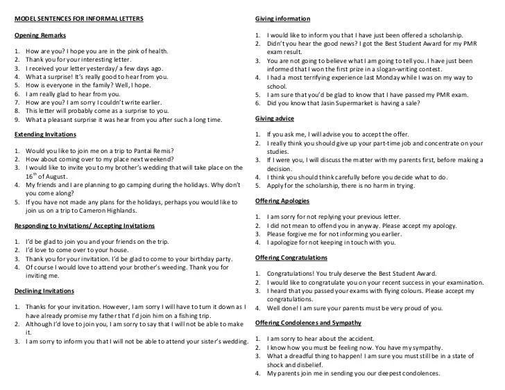 British English Formal Letter Writing | Resume Sample for Jobs
