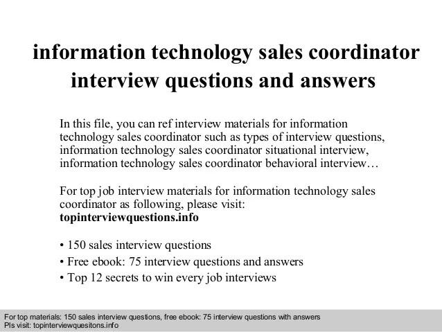information technology job interview questions - Baskanidai - technology interview questions