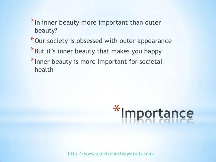 essay on inner beauty - Onwebioinnovate