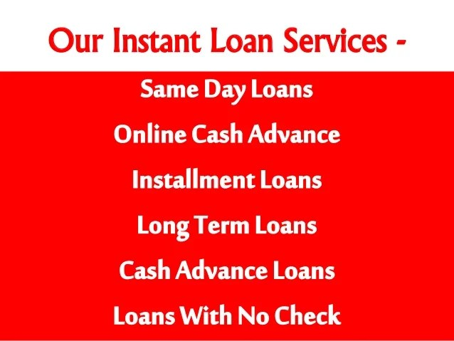 Long Term Installment Loans with No Credit Check Online Same Day