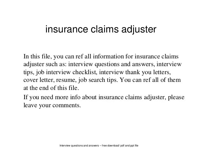 insurance adjuster cover letters - Goalgoodwinmetals - allstate insurance adjuster sample resume