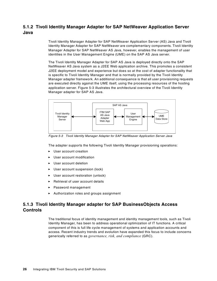 Ibm Tivoli Access Manager For Business Integration Integrating Ibm Tivoli Security And Sap Solutions Redp4616