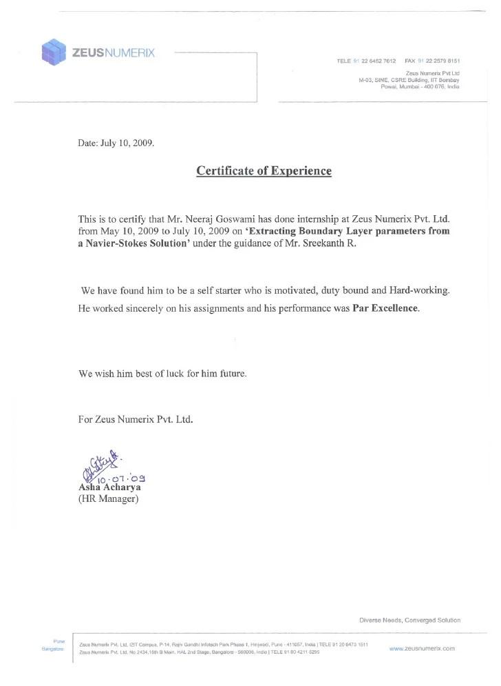 Ngo Internship Cover Letter Sample Resume Pdf Download