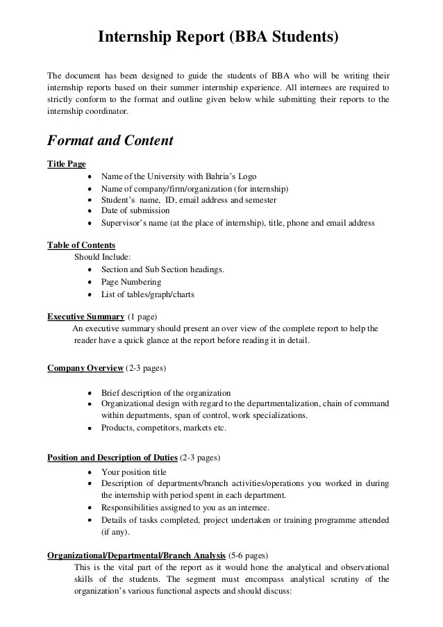 internship daily report sample - Gottayotti