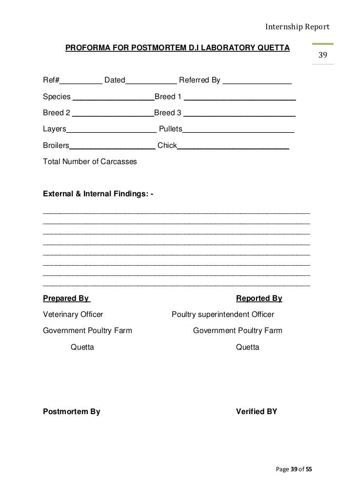 postmortem report template - Onwebioinnovate