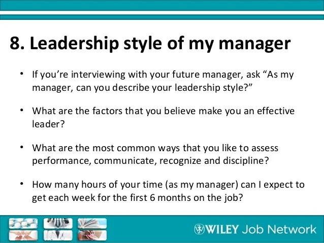 describe leadership style - Pinarkubkireklamowe