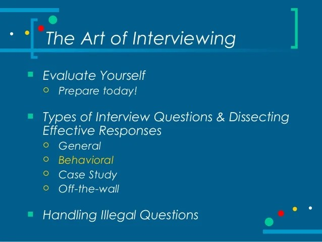 off the wall interview questions - Onwebioinnovate