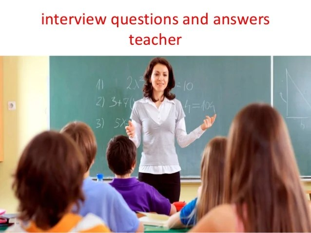 elementary interview questions