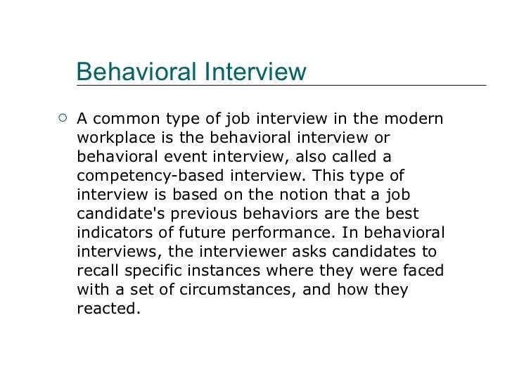 Behavior Interview kicksneakers