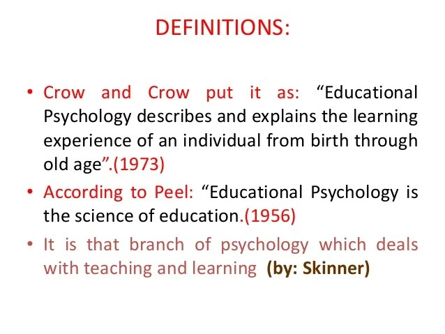 Educational Psychology Wikipedia Definition Of Case Study By Crow And Crow Mfacourses887