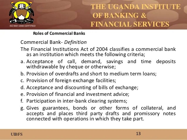 Introduction to financial services 1