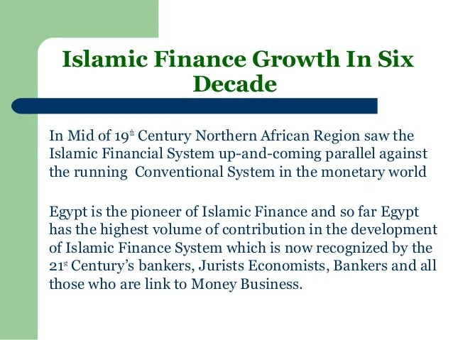 Introduction to Islamic economics and finance system