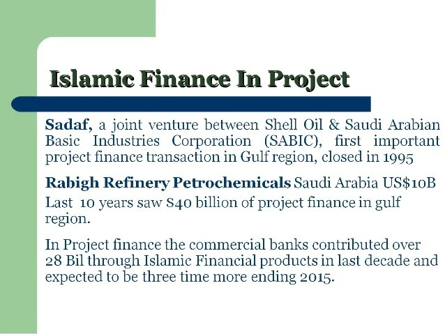 Introduction to Islamic economics and finance system