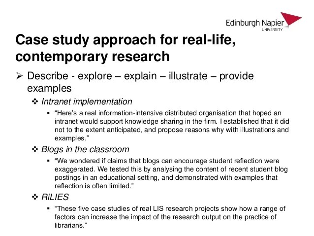 case study paper example - Case Analysis