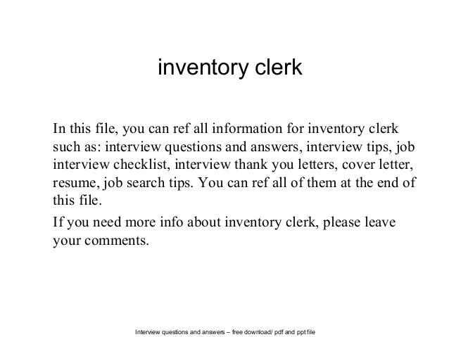 Clerk Resume template inventory clerk resume with photos Accounting Clerk  Resume Sample