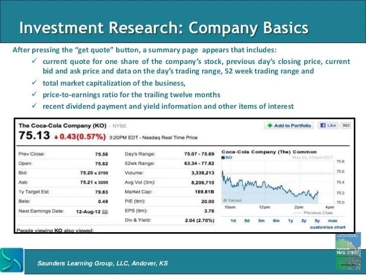 yahoo finance stock quote summary msft