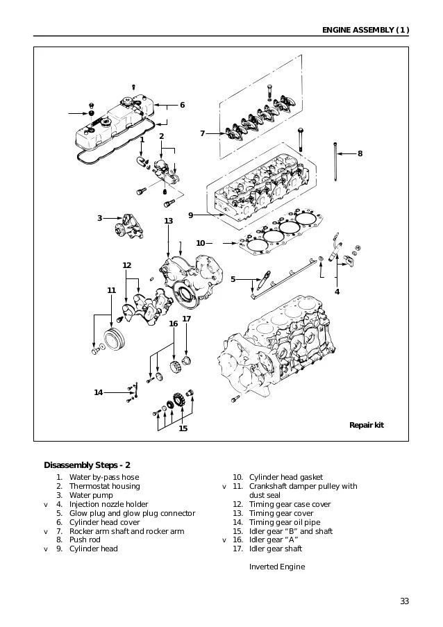 isuzu engine diagram 10pd1 nozzle