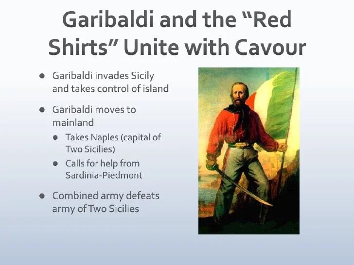 Cavour Garibaldi Essay