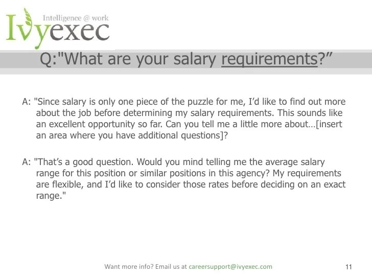 how to submit salary requirements - Funfpandroid
