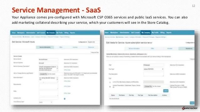 jamcracker cloud service brokerage csb standard