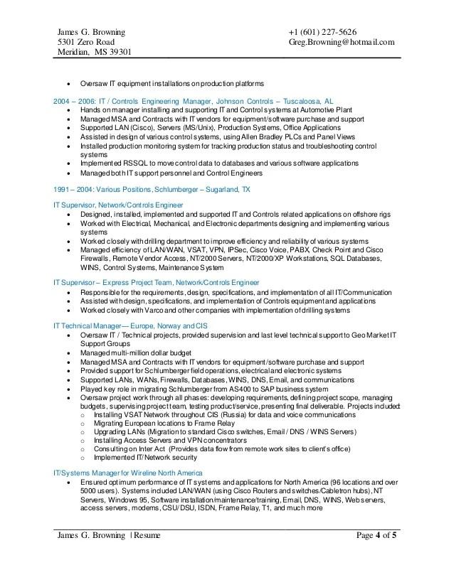 unix engineer resume cisco certified network engineer sample