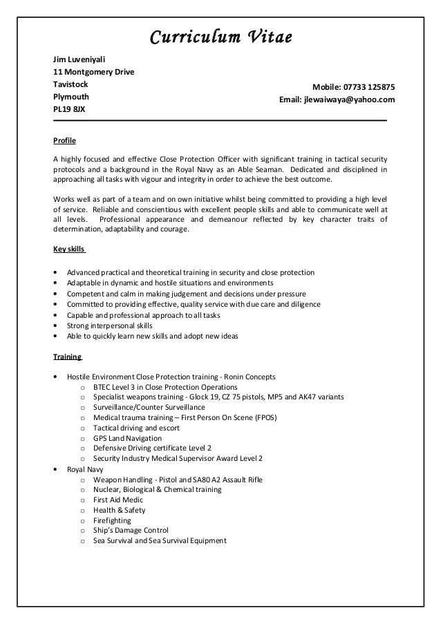 supervisor sample resume - Acurlunamedia