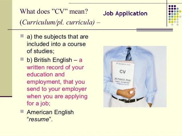 what does resume mean in a job application - Josemulinohouse - what does resume mean