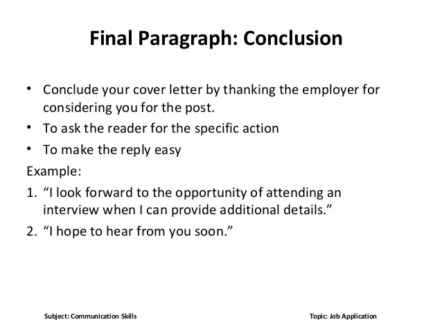 Writing Your Job Application Letter Example And Tips Job Application Dp