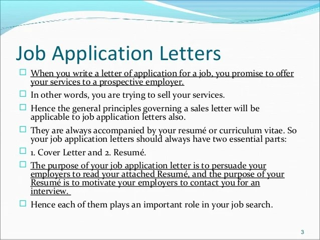 Job Cover Letter Purpose How To Write A Cover Letter 2017 Internships Job Application Letters And Resume