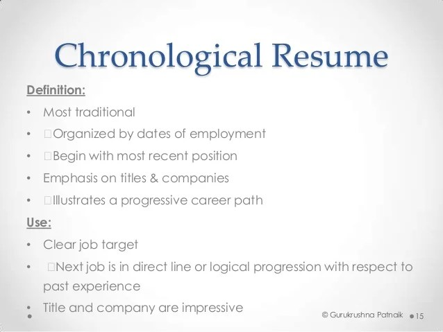 chronological resume template free download - Totally Free Resume Template